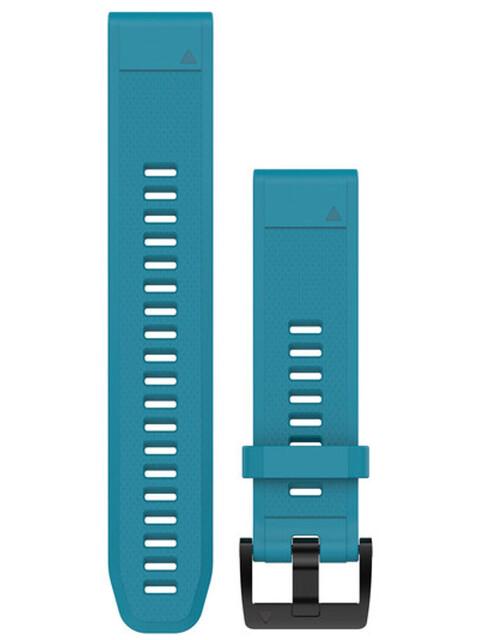 Garmin fenix 5 Silikonarmband QuickFit 22mm cirrus blue